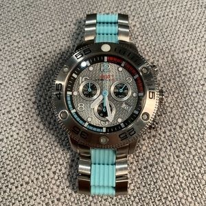NWOT Helix Sapphire Crystal Watch